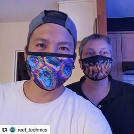 Une belle photo du team @reef_technics pour le concours photo avec le hashtag #masqueneo  Fin du concours le 31 août !! Avis masques et poster vos photos sur Instagram avec le hashtag #masqueneo