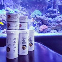 #Repost @stephartsmith ・・・ Refilled!  #elos #elosamerica #corals #coralfood #aquariumpartners #restock